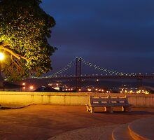 25th April bridge in Lisbon by luissantos84