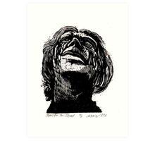 Tears for Her Dead Art Print