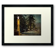 Alberta-The Cowboy Trail Framed Print