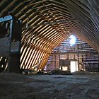 Dad's Barn by Carolyn Clark