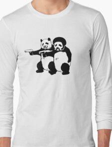 Funny! Pulp Pandas Long Sleeve T-Shirt