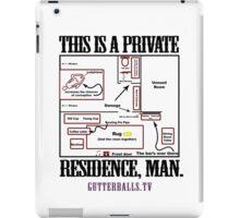 Private Residence - Black iPad Case/Skin