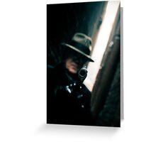 Gunman Greeting Card