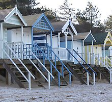 Beach Huts by RLM92