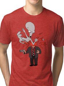 AMERICAN DAD - ROGER SLAM Tri-blend T-Shirt