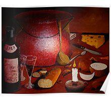 A Dinner Fantasy A La Francais Poster