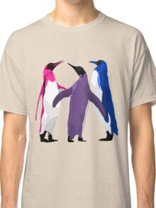 Bisexual Pride Penguins Classic T-Shirt