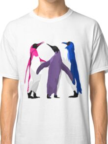 Bisexual Pride Penguins Classic T-Shirt