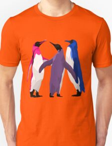 Bisexual Pride Penguins Unisex T-Shirt