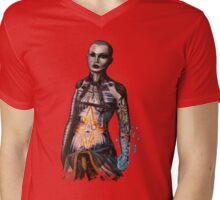 Nought Mens V-Neck T-Shirt