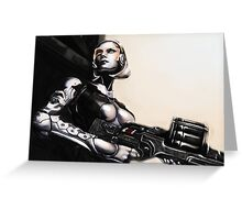 Unshackled A.I. Greeting Card