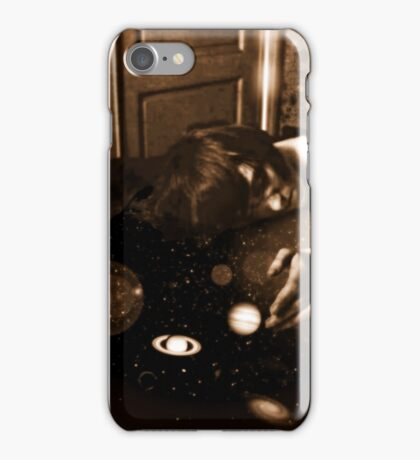 The Sleeping Juggler of Planets iPhone Case/Skin