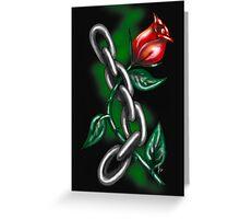 """Strength Rose"" Greeting Card"