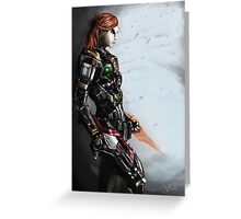 Our Commander Shepard Greeting Card