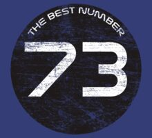 The Best Number - 73 by SprayPaint