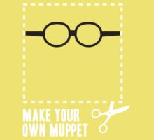 Make Your Own Muppet - Prof. Bunsen by lifeye