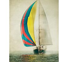 Ketch the Wind II Photographic Print