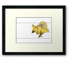 Chocobo! Framed Print
