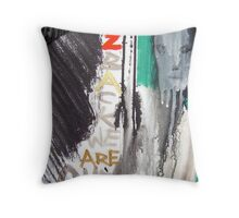 back to back 5 Throw Pillow