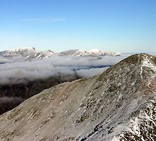 Stob Coire nan Lochan and beyond, Glencoe by ScotLandscapes