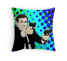 Agent Michael Scarn Throw Pillow