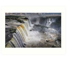 Waterfall Maelstrom Art Print