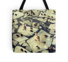 Birds on Ice II Tote Bag