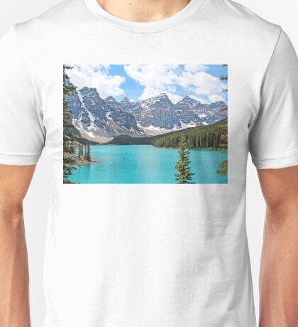 Moraine Lake Valley of the Ten Peaks Unisex T-Shirt