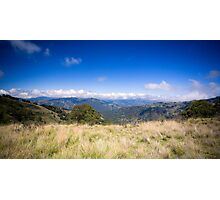 View from Barrinton Forrest Rd, Barrinton Tops Photographic Print