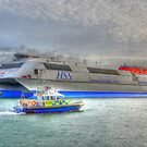 15m Police Boat - Lewis by Simon Evans