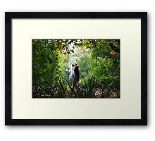 Jayson and Jane Framed Print