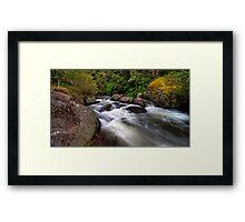 Manning River, Barrington Tops Framed Print
