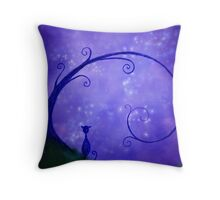 Under the Stary Sky Throw Pillow