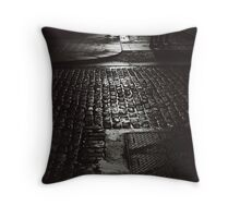 Cobbled crossing Throw Pillow