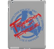 PreCrime: Freedom is not Free iPad Case/Skin