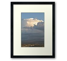Nature and its raw power Framed Print