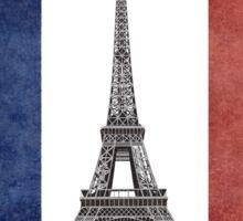Kiss Me I'm French Sticker