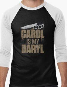 Carol Is My Daryl Men's Baseball ¾ T-Shirt