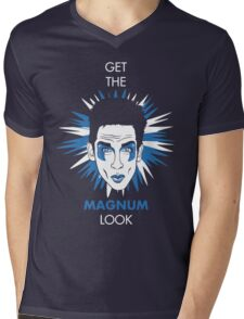 Get the Magnum look Mens V-Neck T-Shirt