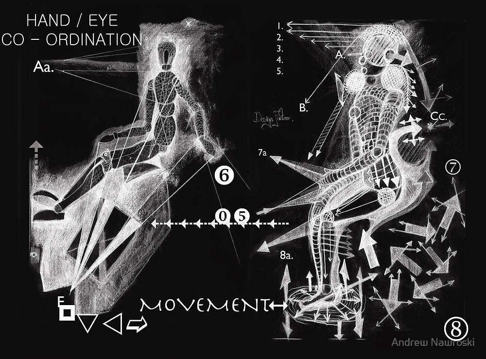 Hand & Eye Co/ordination.  by Andy Nawroski