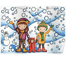 It's Snowing! Poster