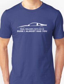 In memory of Paul Walker T-Shirt