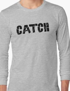Catch Black Long Sleeve T-Shirt