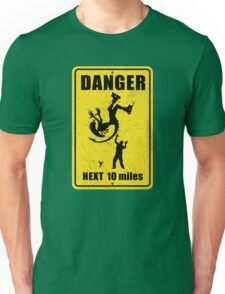Danger! Complicated Death Ahead! Unisex T-Shirt