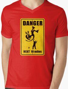 Danger! Complicated Death Ahead! Mens V-Neck T-Shirt