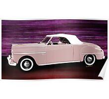 49 Dodge Wayfarer Roadster Poster