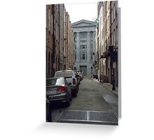 Clinton Street, French Quarter, New Orleans, LA Greeting Card