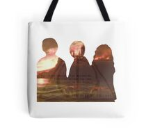 Harry Potter Trio Three Layered Photos Design Tote Bag