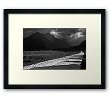 Road from Paradise Framed Print