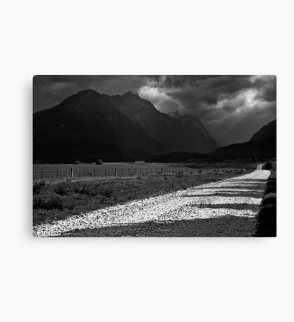 Road from Paradise Canvas Print